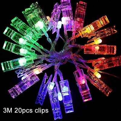 Up to 65% OFF -  - Fairy LED Photo Clips | Wiki Wiseman
