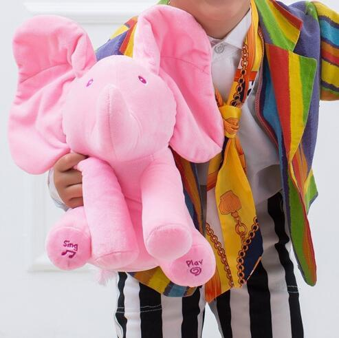 Up to 65% OFF - Stuffed & Plush Animals - Peek A Boo - Plush Musical Elephant Stuffed Animal | Wiki Wiseman