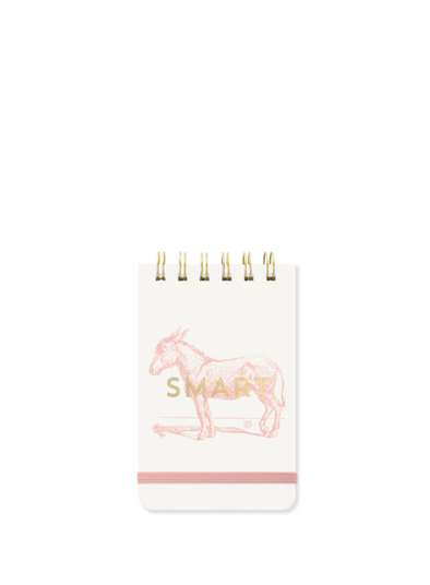 Vintage Sass Smart Donkey Notepad from Designworks ink.