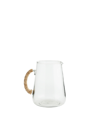 Glass Jug with Bamboo Handle - Large