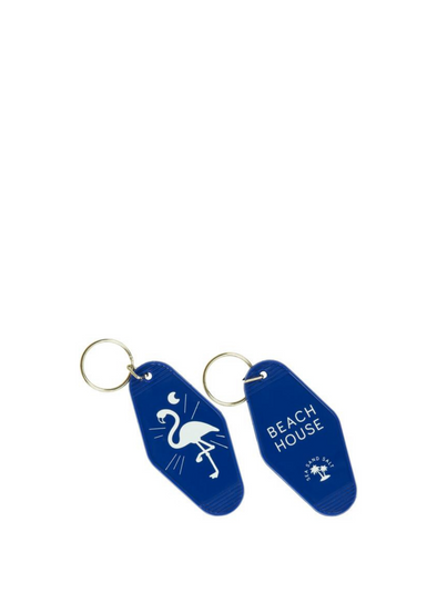 "Motel Key Ring ""Beach House"" - Blue from Fisura"