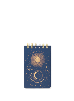 Live By The Sun - Twin Wire Purse NotePad from Designworks ink.