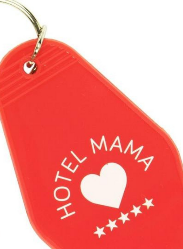 "Motel Key Ring ""Hotel Mama"" - Red from Fisura"