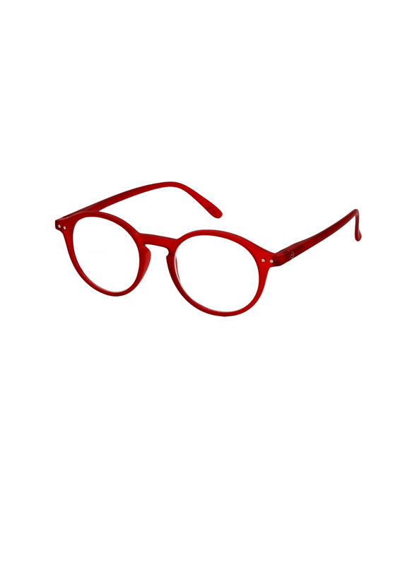 #D Reading Glasses in Red from Izipizi