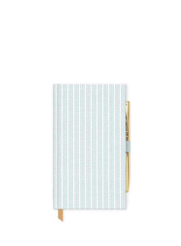 Slim Bound pad in Striped Mint from Designworks ink.