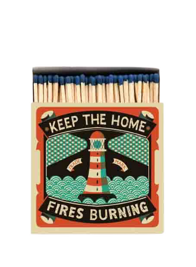 Home Fires Burning Matches