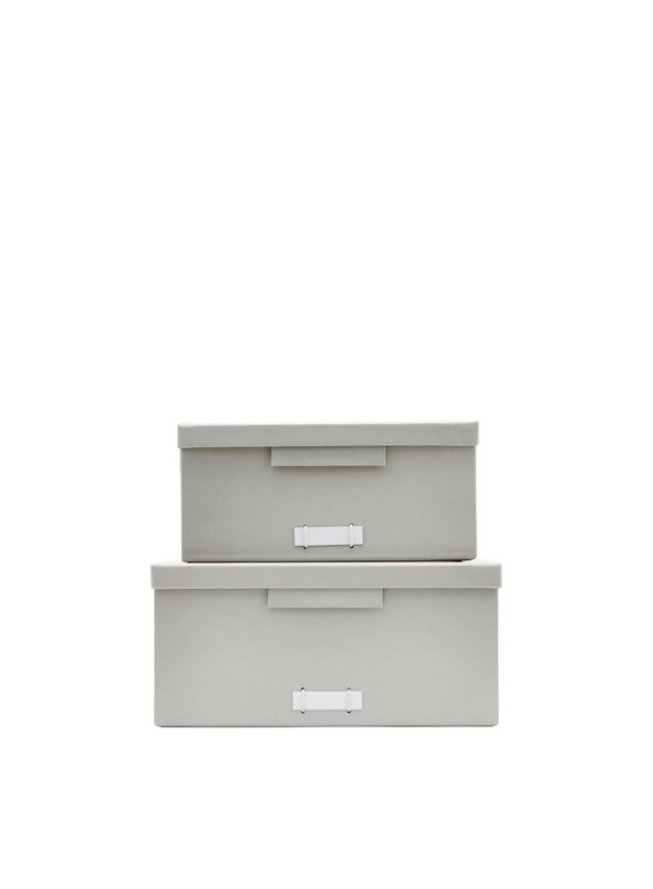 Light Grey Filling Boxes With Lids from Monograph