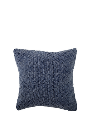 Woven Blue Aztec Inspired Cushion from Bloomingville