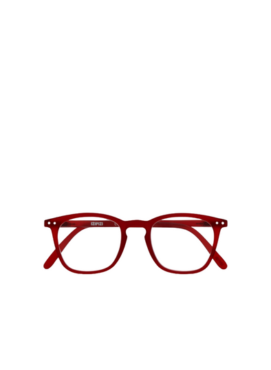 #E Reading Glasses in Red from Izipizi