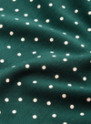 Betsy Little Dots Rollneck Top in Pine Green from King Louie
