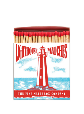 Stripey Lighthouse Matches