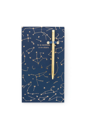 Constellations Chunky Note Pad with Pen from Designworks ink.