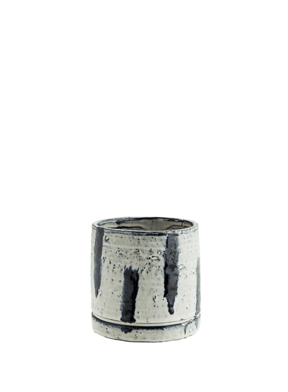 Flowerpot with Stripes - Small