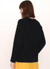 Cables Warm Jumper in Black from Pepaloves