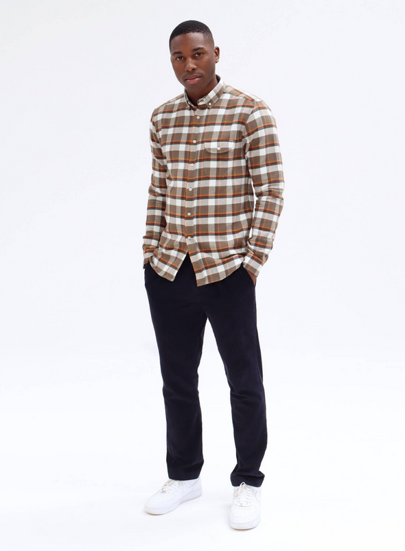 Larry Moscow Check Shirt from Far Afield