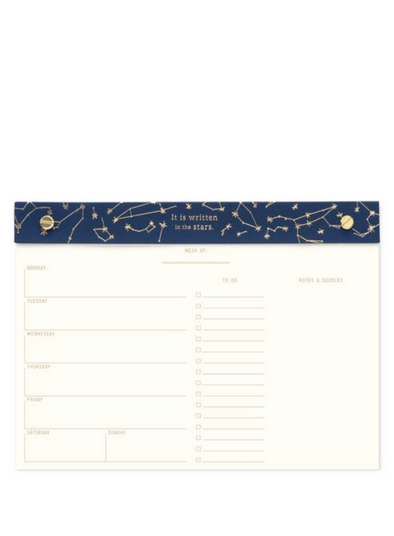 It is Written in the Stars Weekly Planner from Designworks ink.
