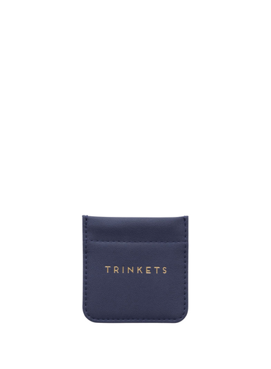Navy Trinket Pouch from Designwork ink.