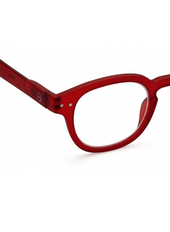#C Reading Glasses in Red from Izipizi