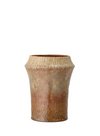 Large Brown Multicolour Stoneware Vase from Bloomingville