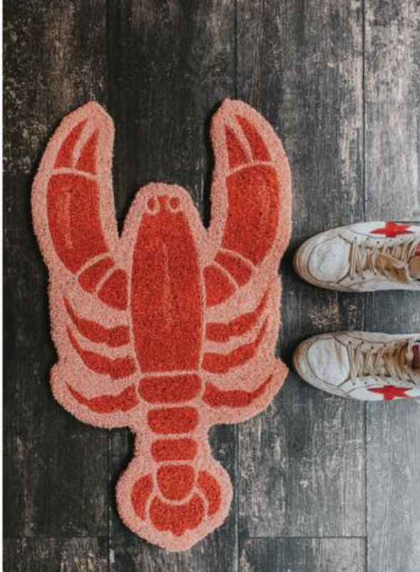 Lobster Door Mat