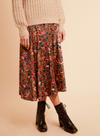 Edith Jardin Exotic Midi Skirt from Frnch