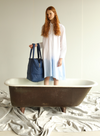 Turtleneck Sweater with Recycled Thread from Indi & Cold