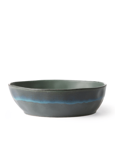 70's Style Pasta Bowl - Moss