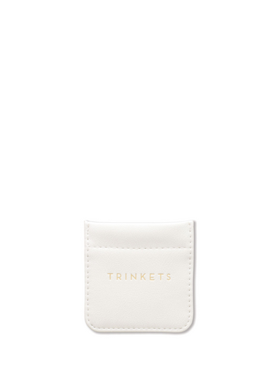 Ivory Trinket Pouch from Designworks ink