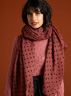 Pablo Scarf in Henna Red from King Louie