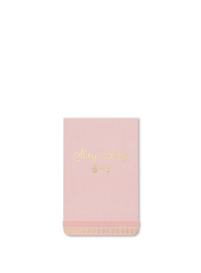 Slay the day Purse Notepad Pink from Designworks ink