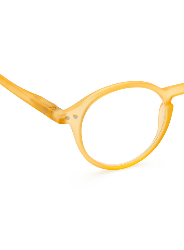 #D Reading Glasses in Yellow Honey from Izipizi