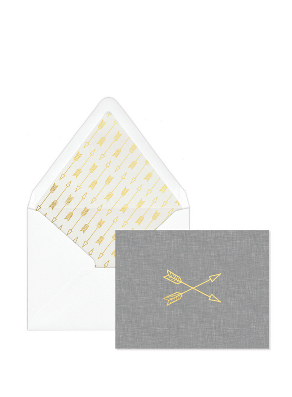 Arrow Boxed Note Cards from Designworks ink