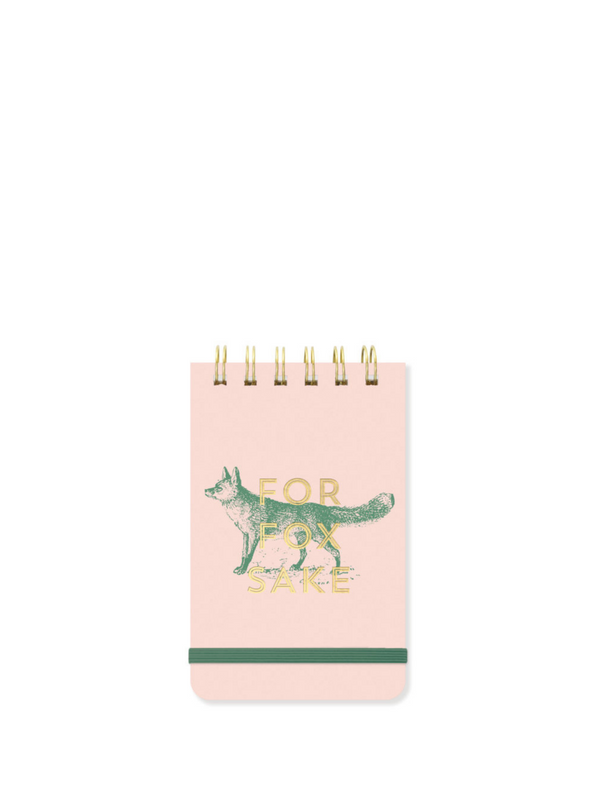 Vintage Sass For Fox Sake Notepad from Designworks ink.