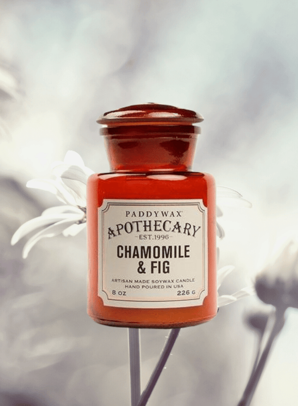 Apothecary Chamomile & Fig Candle from Paddywax