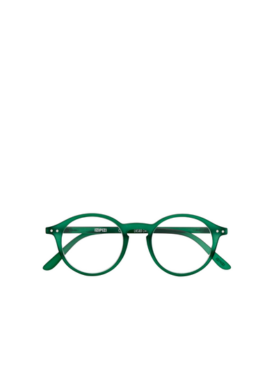 #D Reading Glasses in Green from Izipizi