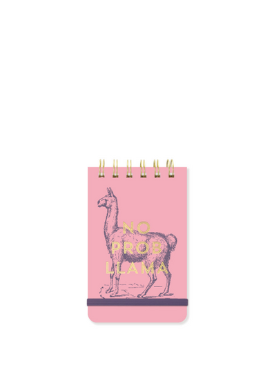 Vintage Sass No Prob Llama Notepad from Designworks ink.