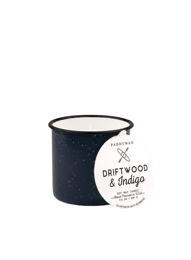 Alpine Driftwood & Indigo Candle from Paddywax
