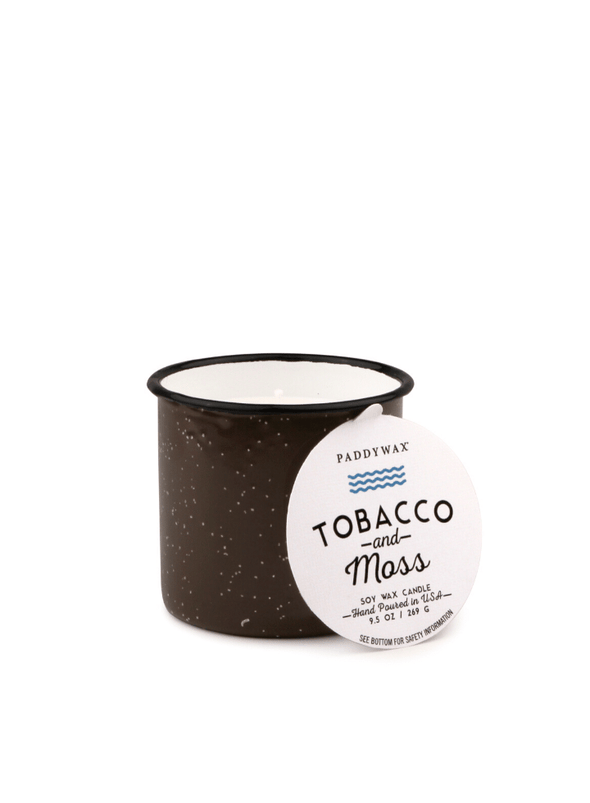 Alpine 9.5oz Tobbacco & Moss Candle from Paddywax