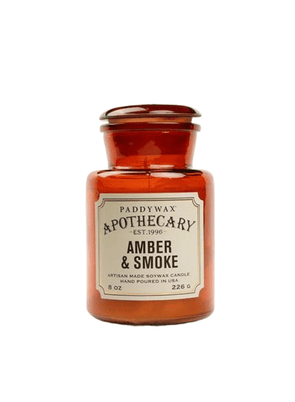 Apothecary Amber & Smoke Candle from Paddywax