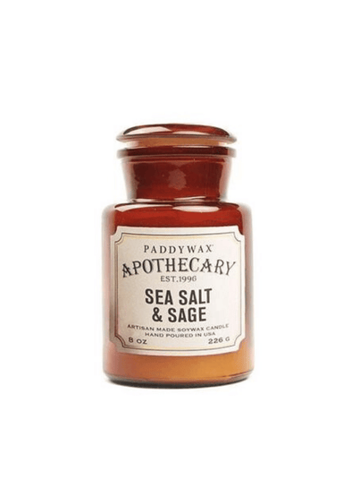 Apothecary Sea Salt & Sage Candle from Paddywax