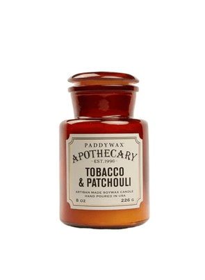 Apothecary Tobacco and Patchouli Candle from Paddywax