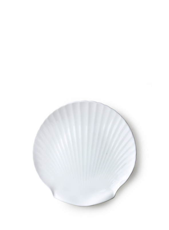 Athena Large Shell Tray White from HK Living