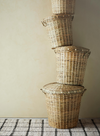 Valley Wells Large Bamboo Basket With Lid From Madam Stoltz