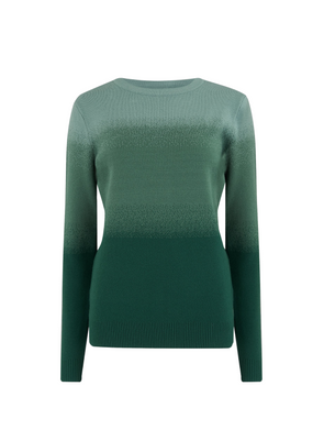 Becka Forest Ombre Sweater from Sugarhill