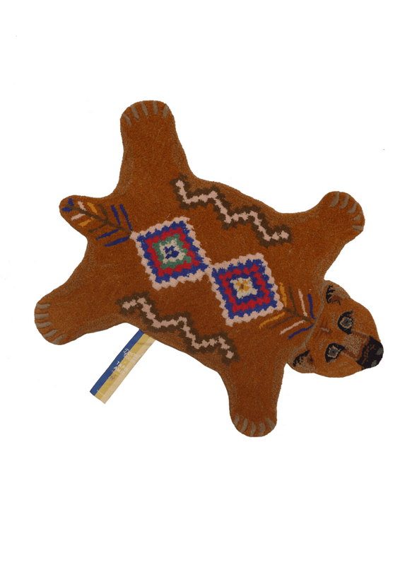 Berber Grizzly Bear Small Wool Rug