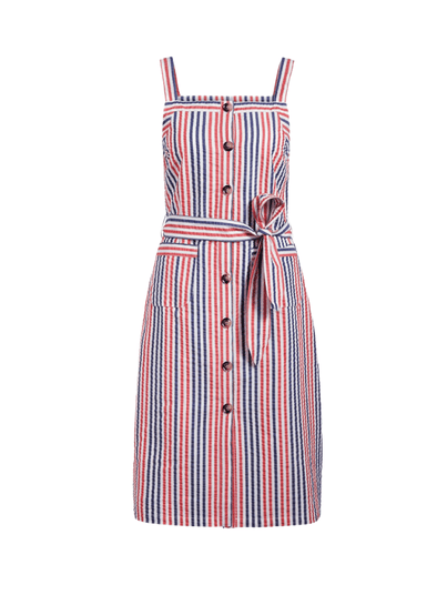 Beth Pinafore Dress Bellaria Stripe from King Louie