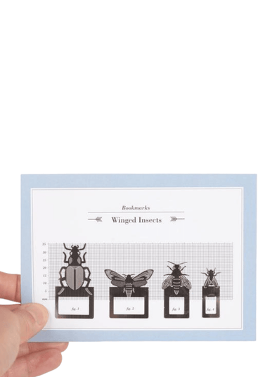 Bookmark Set - Winged Insects
