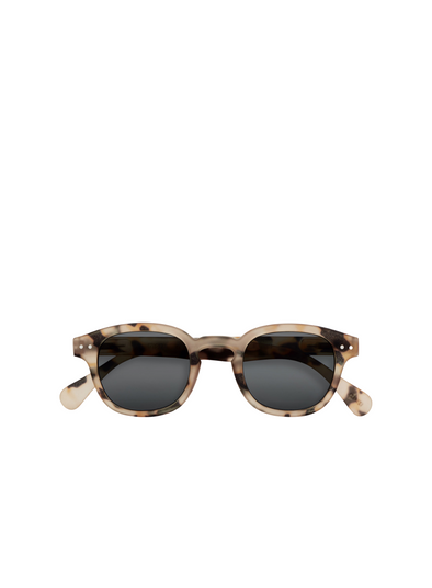 #C Sunglasses in Light Tortoise From Izipizi