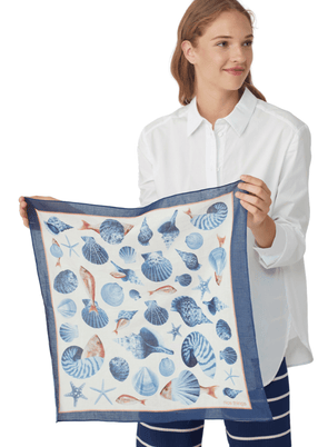 Fishes & Shells Scarf from Nice Things