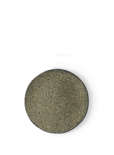Gradient Ceramic Green Side Plate from HK Living
